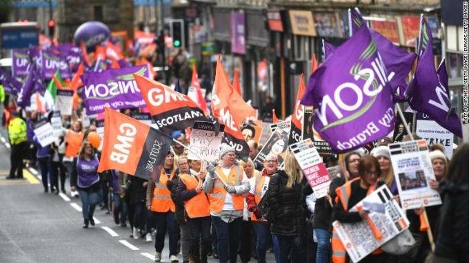glasgow equal pay march