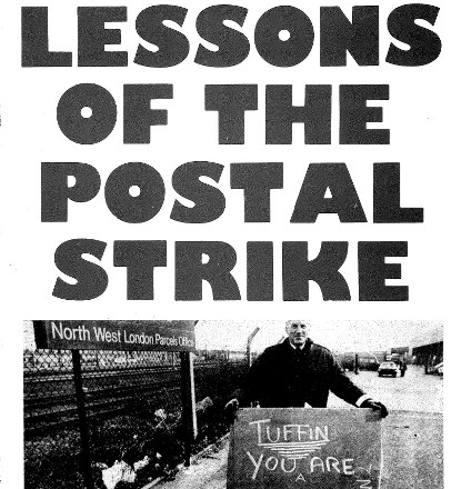 Lessons of postal strike