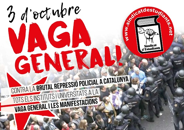 Catalonia general strike