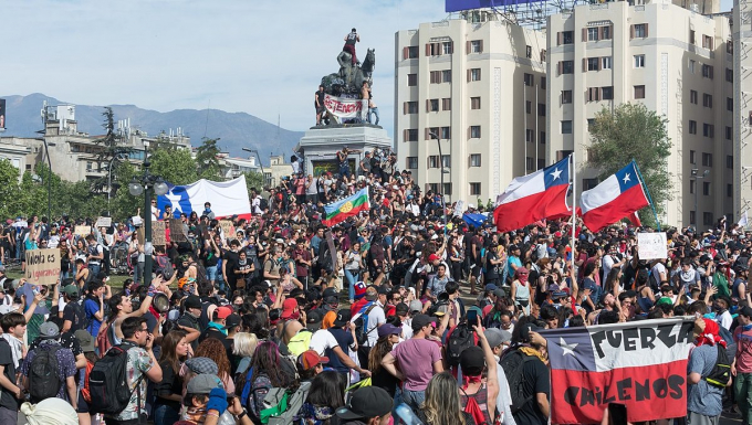 Protest in Chile, 2019