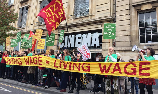 Hackney picturehouse strike