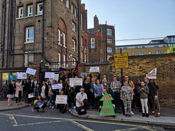 Harbinger NEU calls for head to be suspended | Workers' Liberty