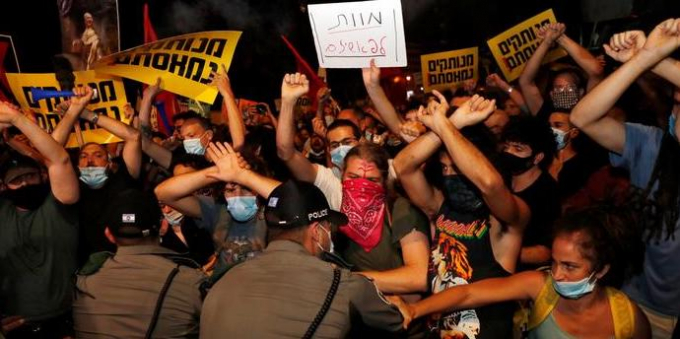 Israel protest over Covid-19 and economic policy