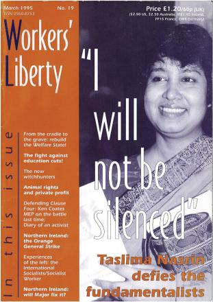Workers Liberty cover