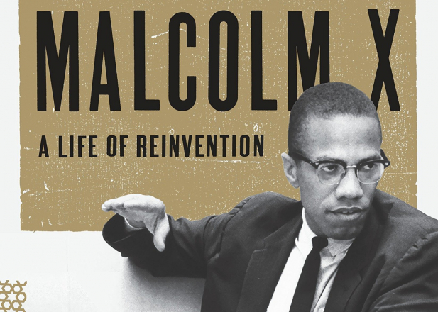 A life of reinvention: Malcolm X — book cover
