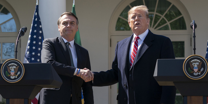 Trump and Bolsanaro