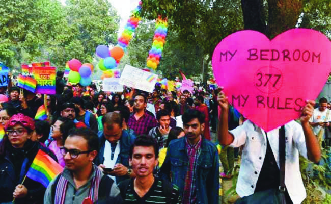 Demonstration against section 377