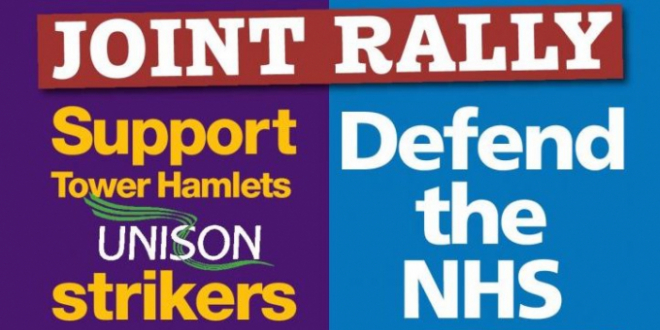 Tower Hamlets rally