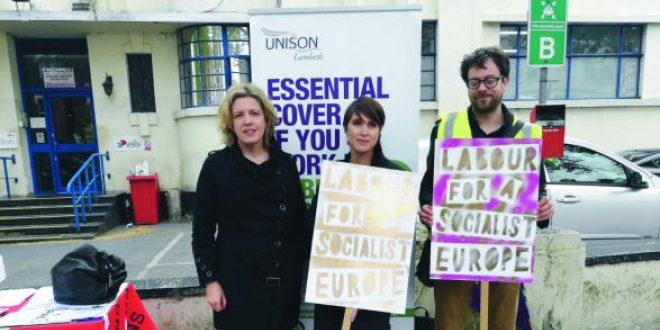 labour for socialist europe