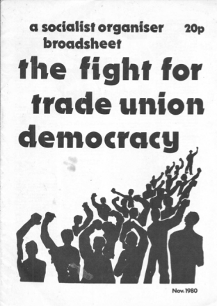 Tubeworker meeting, Wednesday 27 January, 16:00-18:00: What kind of unions do we need? How can we build them?
