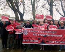 Labour Campaign for Free Movement campaigning in Welwyn Hatfield