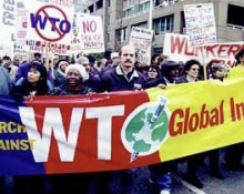 WTO demo