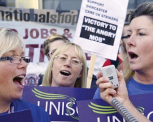 Care strikers