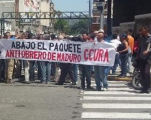 """Workers in Struggle"", 3 July, Caracas"