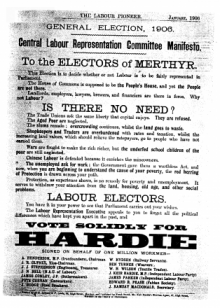 1906 Labour Representation Committee manifesto