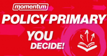 Momentum policy primary advert