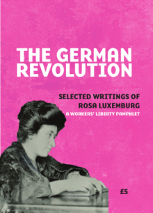 The German Revolution: Selected writings of Rosa Luxemburg. A Workers' Liberty Pamphlet