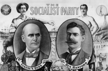 Socialist Party election poster, 1904