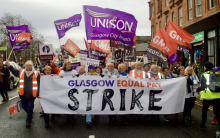 Glasgow equal pay dispute