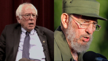 Sanders and Castro