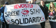Student staff solidarity