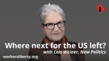 Where now for the US left? with Lois Weiner