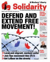 Solidarity: Defend And Extend Free Movement