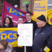 PCS DWP picket line