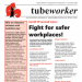 Tubeworker — 22/10/2020: Covid-19 Second Wave: Fight for Safer Workplaces!
