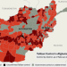 Taliban control in Afghanistan