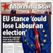 Morning Star front page