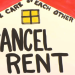 Cancel rent