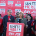 Unite Here trade unionists in Nevada