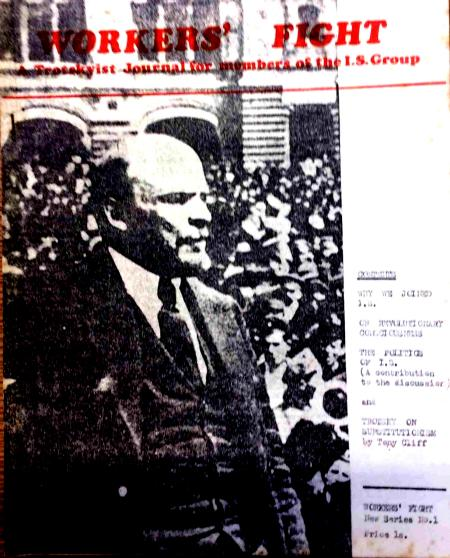 Workers' Fight, issue produced inside IS, 1969